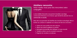 Application & Site de rencontre adultère : notre top 5