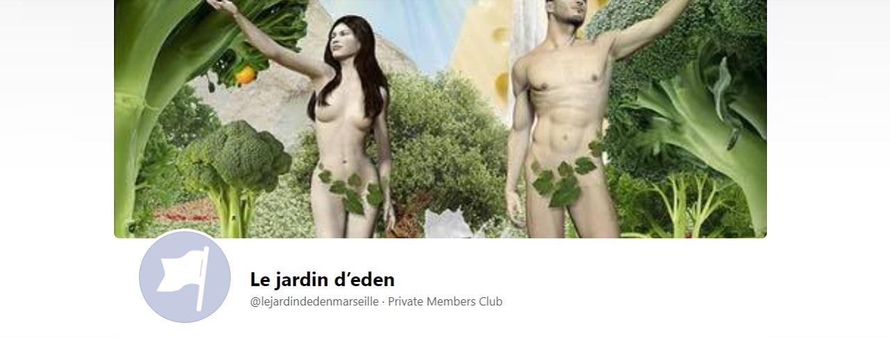 Le Jardin d'Eden, club libertin