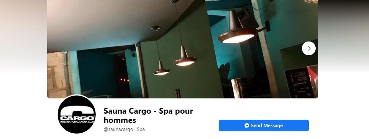 Le Cargo, Sauna gay