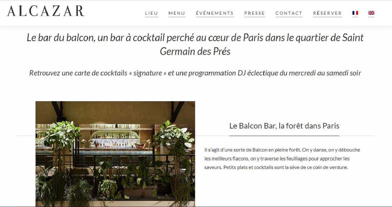 Alcazar Paris