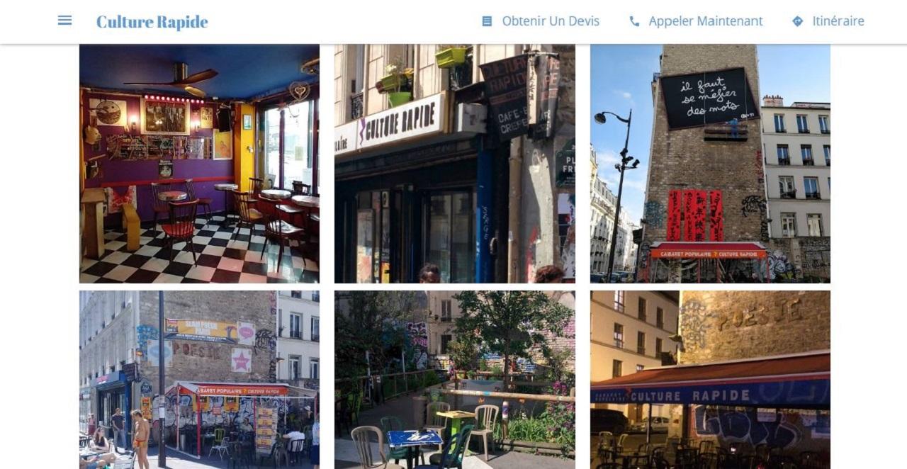 Culture Rapide Paris